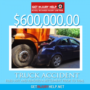 result truck accident